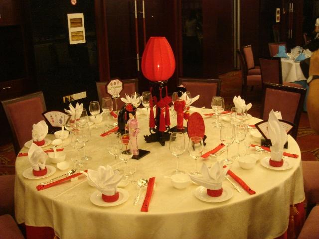 中餐宴会摆台的程序及规范图片