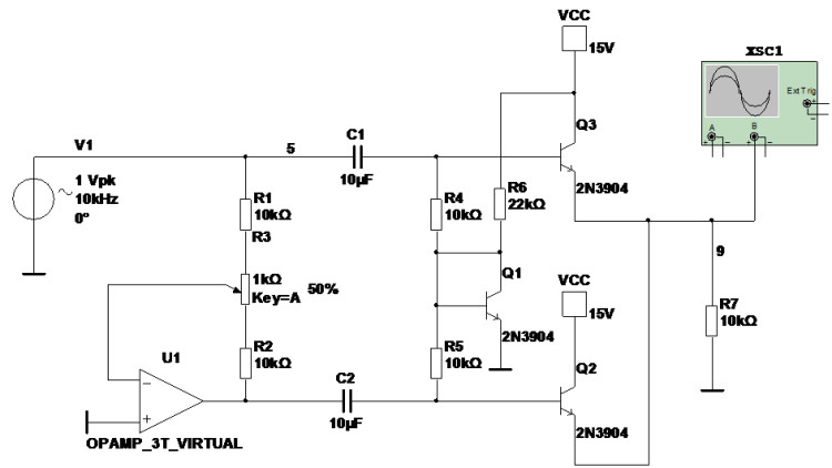 精密全波整流电路的一种电路实现